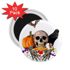 Halloween Candy Keeper 2 25  Magnets (10 Pack)