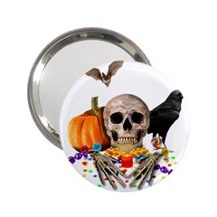 Halloween Candy Keeper 2 25  Handbag Mirrors