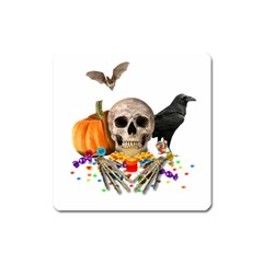 Halloween Candy Keeper Square Magnet