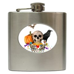 Halloween Candy Keeper Hip Flask (6 Oz)