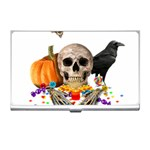 Halloween candy keeper Business Card Holders Front