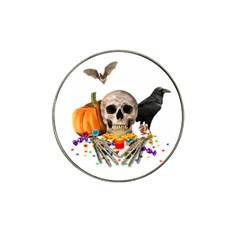 Halloween Candy Keeper Hat Clip Ball Marker (10 Pack)
