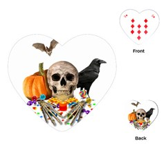 Halloween Candy Keeper Playing Cards (heart)