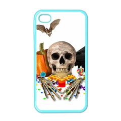 Halloween Candy Keeper Apple Iphone 4 Case (color)