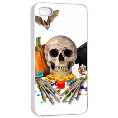 Halloween Candy Keeper Apple Iphone 4/4s Seamless Case (white)