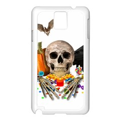 Halloween Candy Keeper Samsung Galaxy Note 3 N9005 Case (white)
