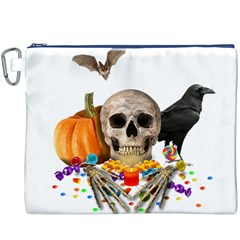 Halloween Candy Keeper Canvas Cosmetic Bag (xxxl)