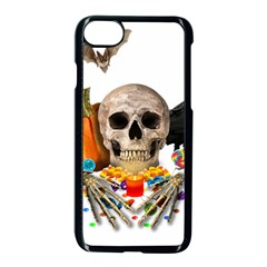 Halloween Candy Keeper Apple Iphone 7 Seamless Case (black)
