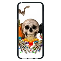 Halloween Candy Keeper Samsung Galaxy S8 Plus Black Seamless Case