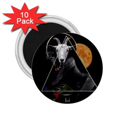 Spiritual Goat 2 25  Magnets (10 Pack)