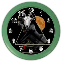 Spiritual Goat Color Wall Clocks