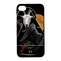 Spiritual Goat Apple Iphone 4/4s Hardshell Case With Stand