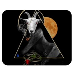 Spiritual Goat Double Sided Flano Blanket (medium)