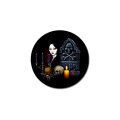 Vampires Night  Golf Ball Marker