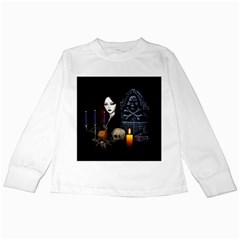 Vampires Night  Kids Long Sleeve T Shirts