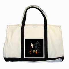 Vampires Night  Two Tone Tote Bag