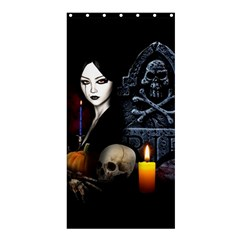 Vampires Night  Shower Curtain 36  X 72  (stall)