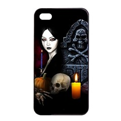 Vampires Night  Apple Iphone 4/4s Seamless Case (black)