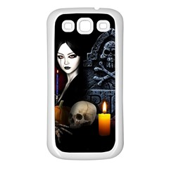 Vampires Night  Samsung Galaxy S3 Back Case (white)
