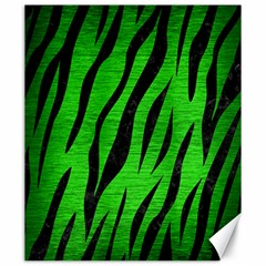 Skin3 Black Marble & Green Brushed Metal (r) Canvas 20  X 24