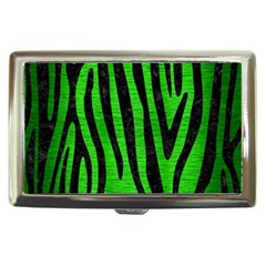 Skin4 Black Marble & Green Brushed Metal Cigarette Money Cases
