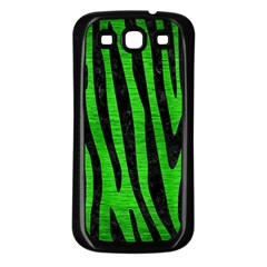 Skin4 Black Marble & Green Brushed Metal Samsung Galaxy S3 Back Case (black)