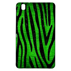 Skin4 Black Marble & Green Brushed Metal Samsung Galaxy Tab Pro 8 4 Hardshell Case