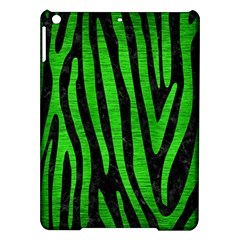 Skin4 Black Marble & Green Brushed Metal (r) Ipad Air Hardshell Cases