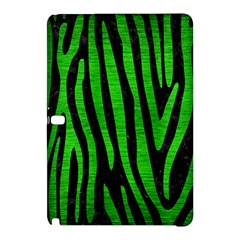 Skin4 Black Marble & Green Brushed Metal (r) Samsung Galaxy Tab Pro 10 1 Hardshell Case