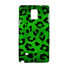 Skin5 Black Marble & Green Brushed Metal Samsung Galaxy Note 4 Hardshell Case
