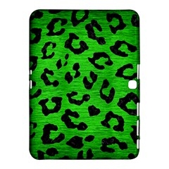 Skin5 Black Marble & Green Brushed Metal Samsung Galaxy Tab 4 (10 1 ) Hardshell Case