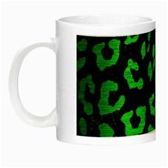 Skin5 Black Marble & Green Brushed Metal (r) Night Luminous Mugs