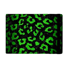 Skin5 Black Marble & Green Brushed Metal (r) Apple Ipad Mini Flip Case