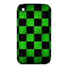 Square1 Black Marble & Green Brushed Metal Iphone 3s/3gs