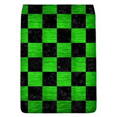 Square1 Black Marble & Green Brushed Metal Flap Covers (s)