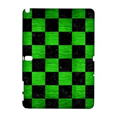 Square1 Black Marble & Green Brushed Metal Galaxy Note 1