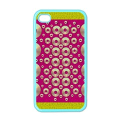 Going Gold Or Metal On Fern Pop Art Apple Iphone 4 Case (color)