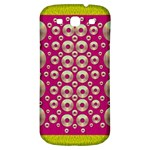 Going Gold Or Metal On Fern Pop Art Samsung Galaxy S3 S III Classic Hardshell Back Case Front