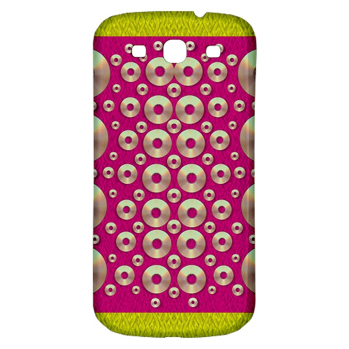 Going Gold Or Metal On Fern Pop Art Samsung Galaxy S3 S III Classic Hardshell Back Case