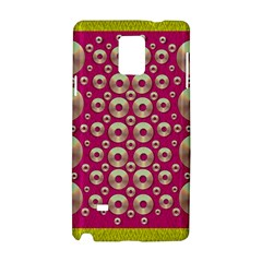 Going Gold Or Metal On Fern Pop Art Samsung Galaxy Note 4 Hardshell Case