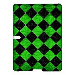 Square2 Black Marble & Green Brushed Metal Samsung Galaxy Tab S (10 5 ) Hardshell Case