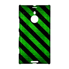 Stripes3 Black Marble & Green Brushed Metal (r) Nokia Lumia 1520