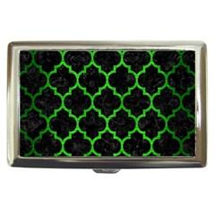 Tile1 Black Marble & Green Brushed Metal Cigarette Money Cases