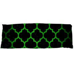 Tile1 Black Marble & Green Brushed Metal Body Pillow Case Dakimakura (two Sides)