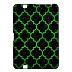 Tile1 Black Marble & Green Brushed Metal Kindle Fire Hd 8 9