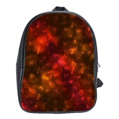 Spiders On Red School Bag (large)