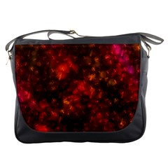 Spiders On Red Messenger Bags