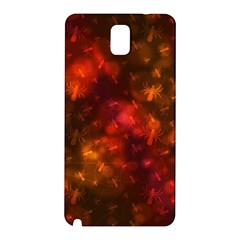 Spiders On Red Samsung Galaxy Note 3 N9005 Hardshell Back Case