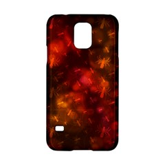 Spiders On Red Samsung Galaxy S5 Hardshell Case