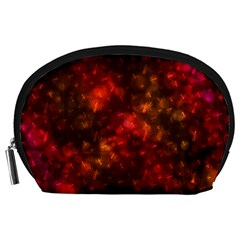 Spiders On Red Accessory Pouches (large)